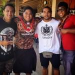 The men of Mauga Mu