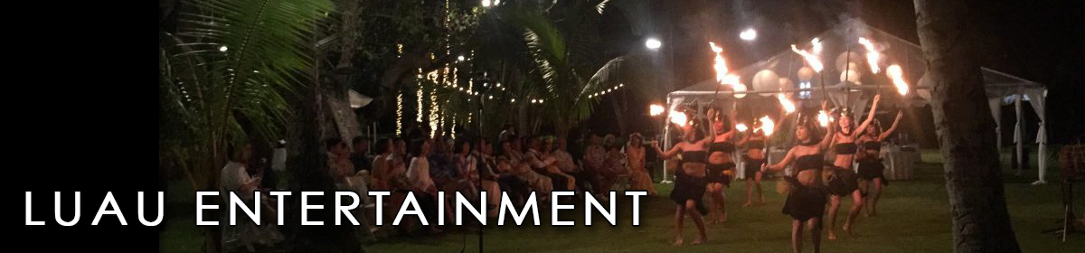 Hawaiian Luau Entertainment